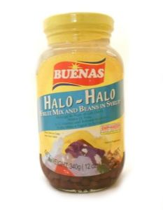Buenas Halo-Halo [Mixed Fruit & Beans in Syrup] | Buy Online at The Asian Cookshop